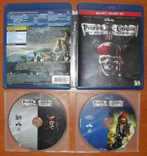 Piratas del Caribe en Mareas Misteriosas [Disney Blu-Ray 2D + 3D & Region Free]