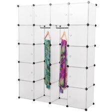 NEUHAUS® DIY Sistema Scaffale Armadio 12Porte 180x145x37cm Bianco Ripostiglio Li