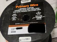 East Penn #14awg GPT PVC Automotive/Marine Primary Lead Wire 60V/80C Black/100ft