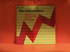 CORPORATION - A SOUND CONTEMPORARY MUSICAL INVESTMENT - VG+ VINYL LP RECORD -S