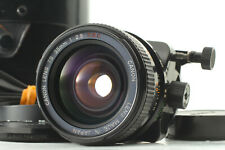 【N.MINT】CANON TS 35mm f/2.8 s.s.c. ssc Tilt Shift MF Lens FD Mount Japan #711