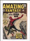 AMAZING FANTASY #15 ==> 1ST APPEARANCE OF THE AMAZING SPIDER-MAN 1962