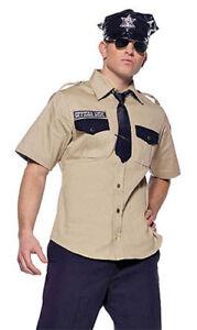 Police Sheriff Arresting Officer Uniform Costume, Leg Avenue 83456, Size M/L, XL