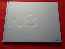 AUDI R8 4.2 FSI 5.2 FSI quattro Hardcover Prospekt von 2009