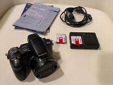 Sony Cyber-shot DSC-H50 9.1MP Digital Camera + Extras!