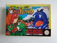 Super Mario World 2 Yoshi's Island - Super Nintendo SNES game - [CIB UKV PAL]