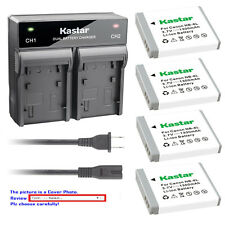 Kastar Battery Rapid Charger for Canon NB-6L NB-6LH CB-2LY & Canon PowerShot D20