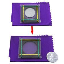 Coin Escape Magic Tricks Coin Flight Fantastic Coin Disappearing Magic Props  TR