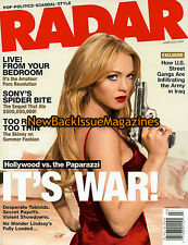 Radar 7/07,Lindsay Lohan,Britney Spears,Spider-Man,NEW
