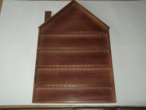 72pc House Wooden Spoon Display Rack ( Mahogany )
