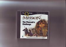 MISSION : THE PHARAOH'S CHALLENGE - 1997 PC & MAC GAME - JC EDITION - VGC