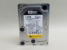 "Lot of 2 Western Digital RE4 WD1003FBYX 1TB 3.5"" SATA II Enterprise Hard Drive"