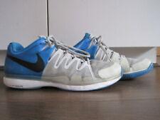 Para hombres Nike Zoom Vapor 9.5 Tour Tenis Entrenadores Azul Gris-UK10 EU45 RRP £ 110
