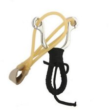 Outdoor Camping Survival Hunting Tool Stainless Slingshot Handle Adult Catapult