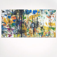 48x24 Abstract Art - Abstract Painting on Canvas Ready to hang - US Artist