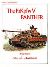 OSPREY VANGUARD 21 PzKpfw V PANTHER WW2 GERMAN TANK JAGDPANTHER KwK42 75mm L/70