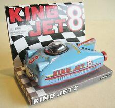 Rennwagen King Jet blau, Schylling, Blechspielzeug