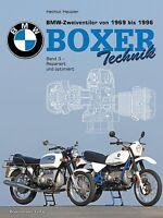 BMW Zweiventil Boxer 1969-1996 Motorräder Reparaturanleitung Wartung Buch Band3