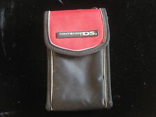 Vintage Nintendo DS RED travel carrying case gameboy old FREE SHIPPING old