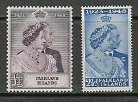 Falkland - Mail Yvert 95/6 MH Characters