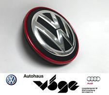 Volkswagen Original Nabenkappe Golf GTI Clubsport Roter Rand Nabendeckel   Neu!