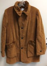 Towncraft Boys Sports Outerwear 2 Pocket Brown Vintage Barn Coat Good Condition