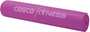 Cosco Yoga Mat Style 6mm free cover 61 x 183cm non toxic PVC firm grip for feet