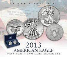 2013 AE #S40 (5 EA) 2- COIN SET-ENHANCED UNC & REVERSE PROOF-1ST STRIKE ELIGIBLE