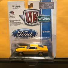 1/64 M2 DRIVERS 1970 FORD MUSTANG FASTBACK SCJ YELLOW