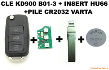CLE KD900 B01-3 + INSERT HU66 + PILE VARTA CR2032