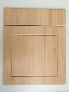 Compatible B&Q Chilton Beech Shaker Fitted kitchen cabinet doors & drawer fronts