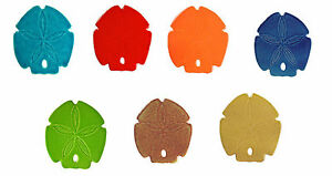 "5"" Ceramic Sand Dollars for Swimming Pool or Wall - 7 colors - Free Shipping"