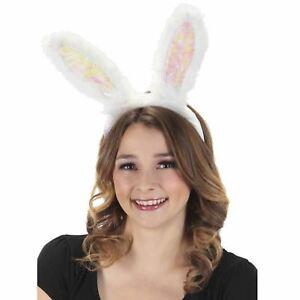 Light Up Bunny Rabbit LumenEars Headband Halloween Festival Costume Accessory