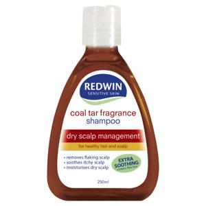 Redwin Coal Tar Shampoo 250mL Dry Scalp Management Healthy Hair Sensitive Skin