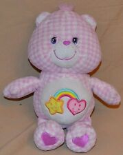 "11"" Best Friend Care Bear Carebears Plush Dolls Toys Stuffed Animals 2006 Pink"