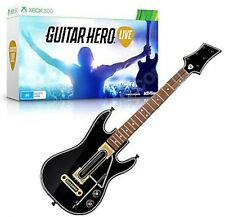 NEW Xbox 360 Guitar Hero Live Single Gaming Controller WITH DONGLE band no-game