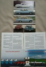 LOT OF 2 1964-85 CHEVY CHEVROLET VARIOUS MODELS CAR PRINT ADS MAGAZINE VINTAGE