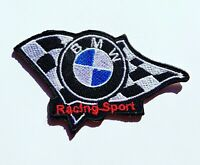 BMW Racing Sport Car Iron On Patch Sew On Embroidered Patch T shirt Jacket Patch