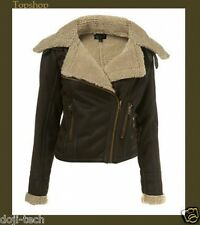 TopShop Shearling Coats &amp Jackets for Women | eBay