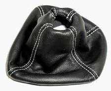 Botte du changement lance YPSILON par 2012 jusqu'à - cuir noir surpiqûres grises