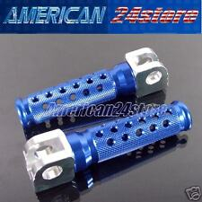 KAWASAKI  BLUE  FOOTPEGS