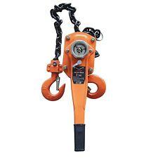 KATSU 181717 Lever Ratchet Tensioner Chain Block Hoist [Size:3T]
