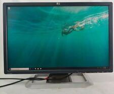 "HP LP2475w 24"" TFT LCD Grade B Monitor 1920x1200 VGA DisplayPort HDMI Composite"