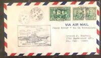 1930 Pace River Canada First Flight Airmail Cover FFC To North Vermilion