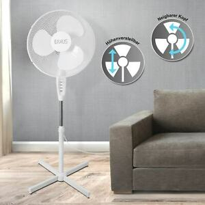 Standventilator 40cm 3 Geschwindigkeiten Lüfter Flügel Ventilator Luft Klima