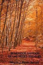 Beneficios Rápidos de Las Redes Sociales by Miquel J. Besalú (2012, Paperback)