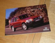 Honda CRV Brochure 1997-1998 - 2.0 LS & ES - CR-V