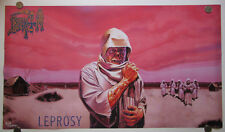 DEATH Leprosy large poster Chuck Schuldiner Spiritual Healing Human Symbolic