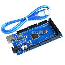 2PCS MEGA 2560 R3 ATMEGA16U2 ATMEGA2560-16AU Board + USB Cable For Arduino