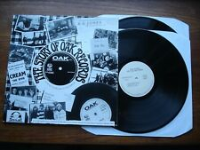 THE STORY OF OAK RECORDS 2xLP 1994 UK TENTH PLANET TP010  PSYCH FOLK BEAT EX+